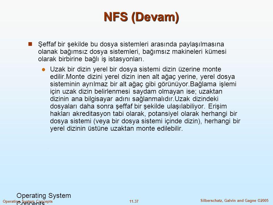NFS (Devam)