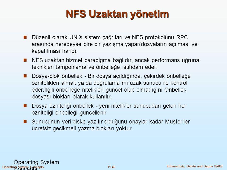NFS Uzaktan yönetim