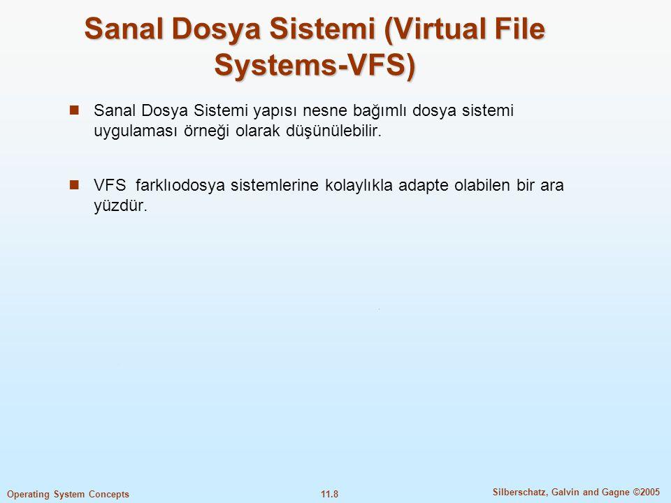 Sanal Dosya Sistemi (Virtual File Systems-VFS)