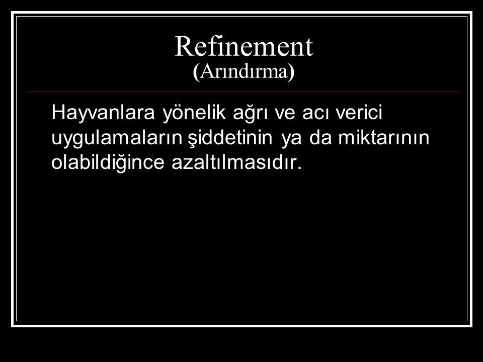 Refinement (Arındırma)