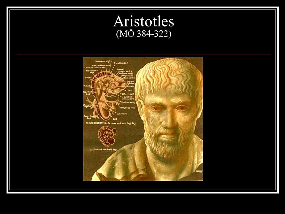 Aristotles (MÖ 384-322)