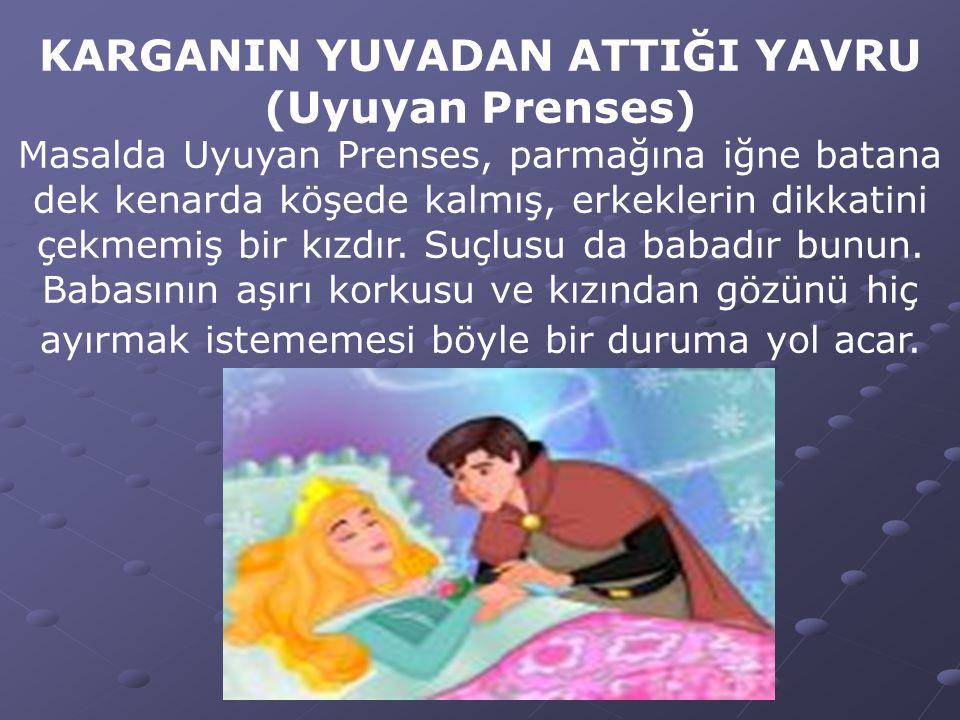 KARGANIN YUVADAN ATTIĞI YAVRU (Uyuyan Prenses)