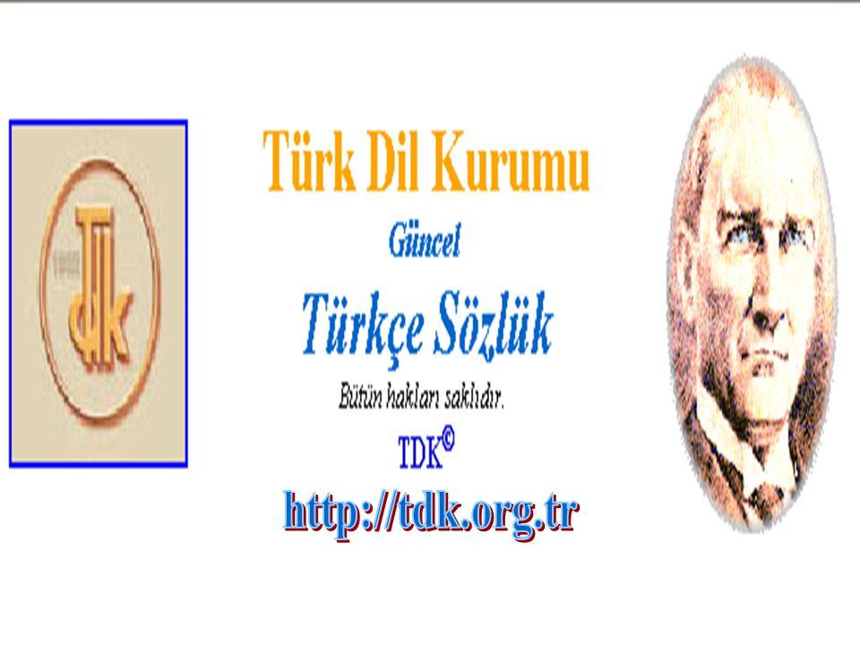 http://tdk.org.tr