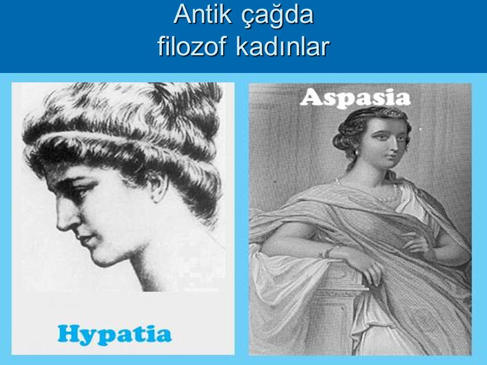 Antik çağda filozof kadınlar
