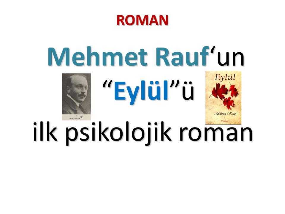 Mehmet Rauf'un Eylül ü
