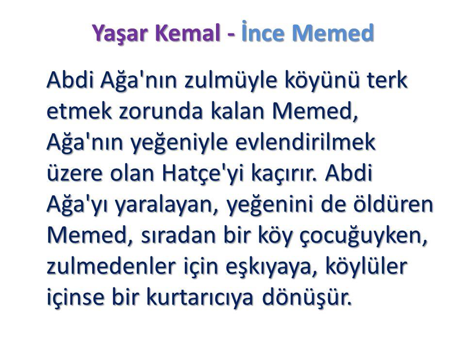 Yaşar Kemal - İnce Memed