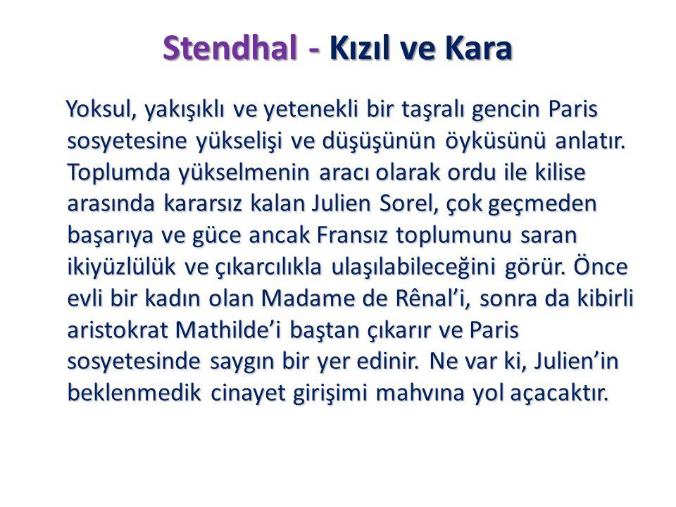 Stendhal - Kızıl ve Kara