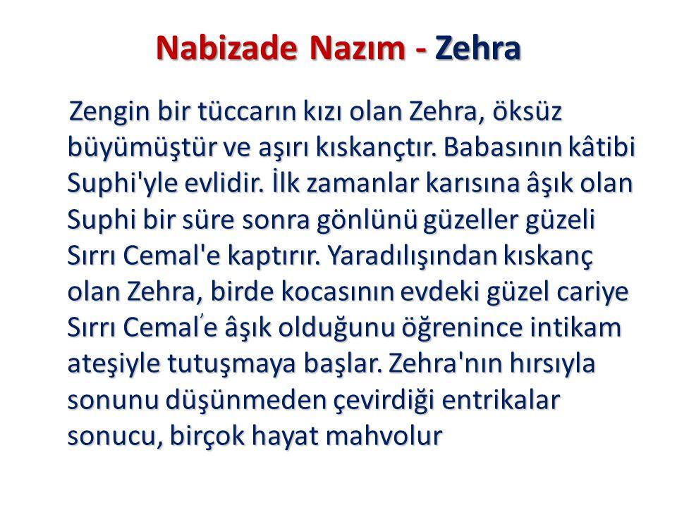 Nabizade Nazım - Zehra
