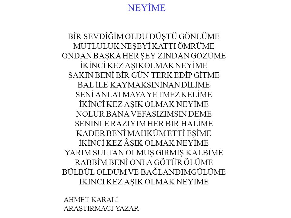 NEYİME