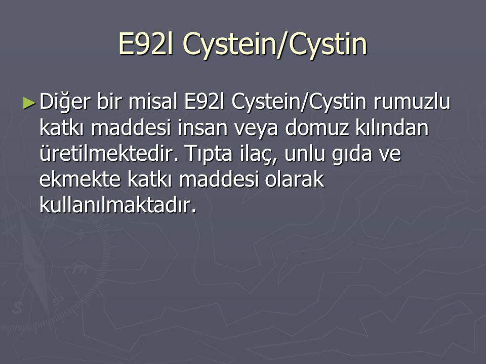 E92l Cystein/Cystin
