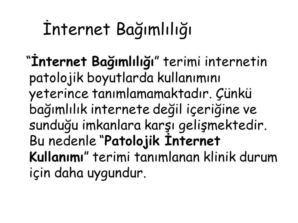 İnternet Bağımlılığı