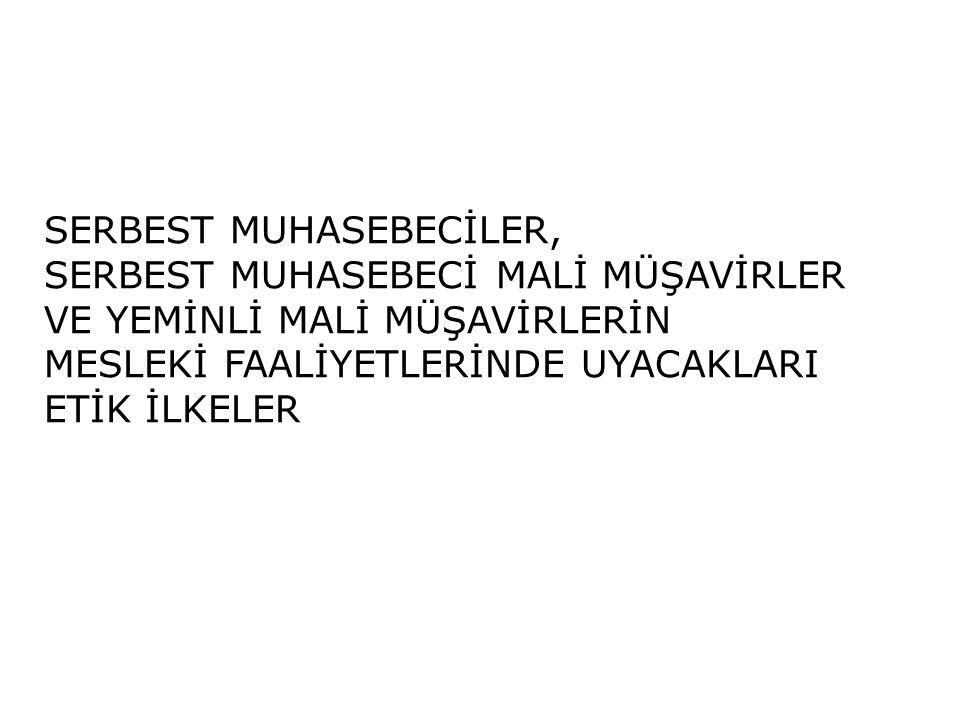 SERBEST MUHASEBECİLER,