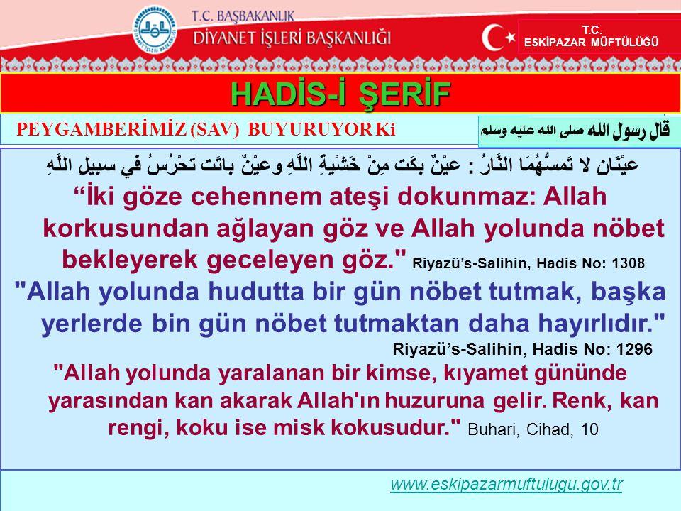 Riyazü's-Salihin, Hadis No: 1296