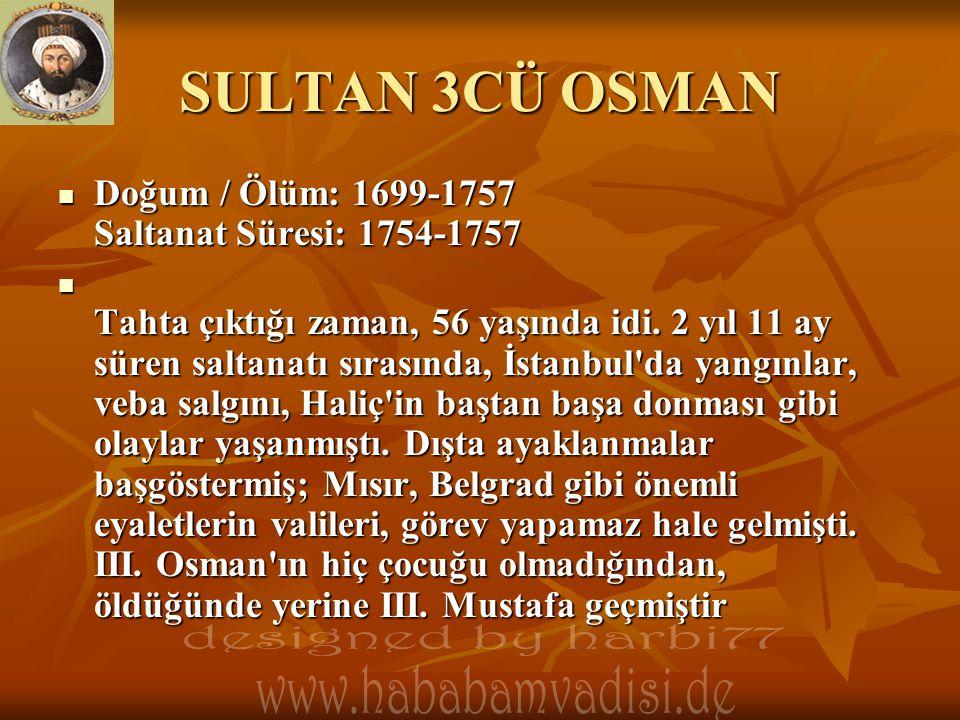 SULTAN 3CÜ OSMAN designed by harbi77 www.hababamvadisi.de