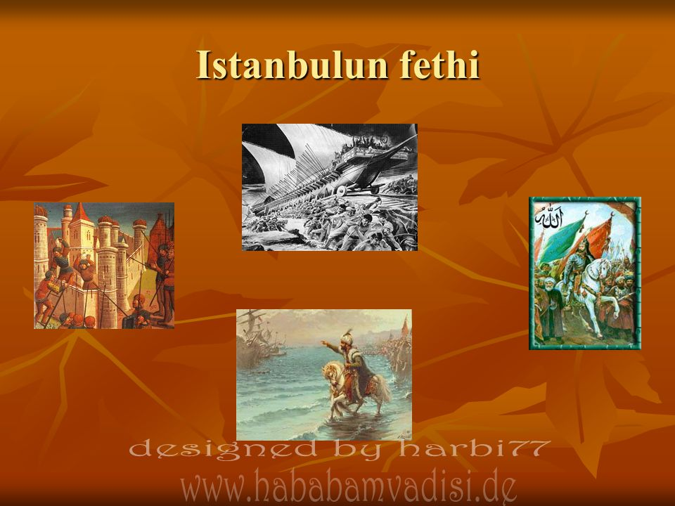 Istanbulun fethi designed by harbi77 designed by harbi77