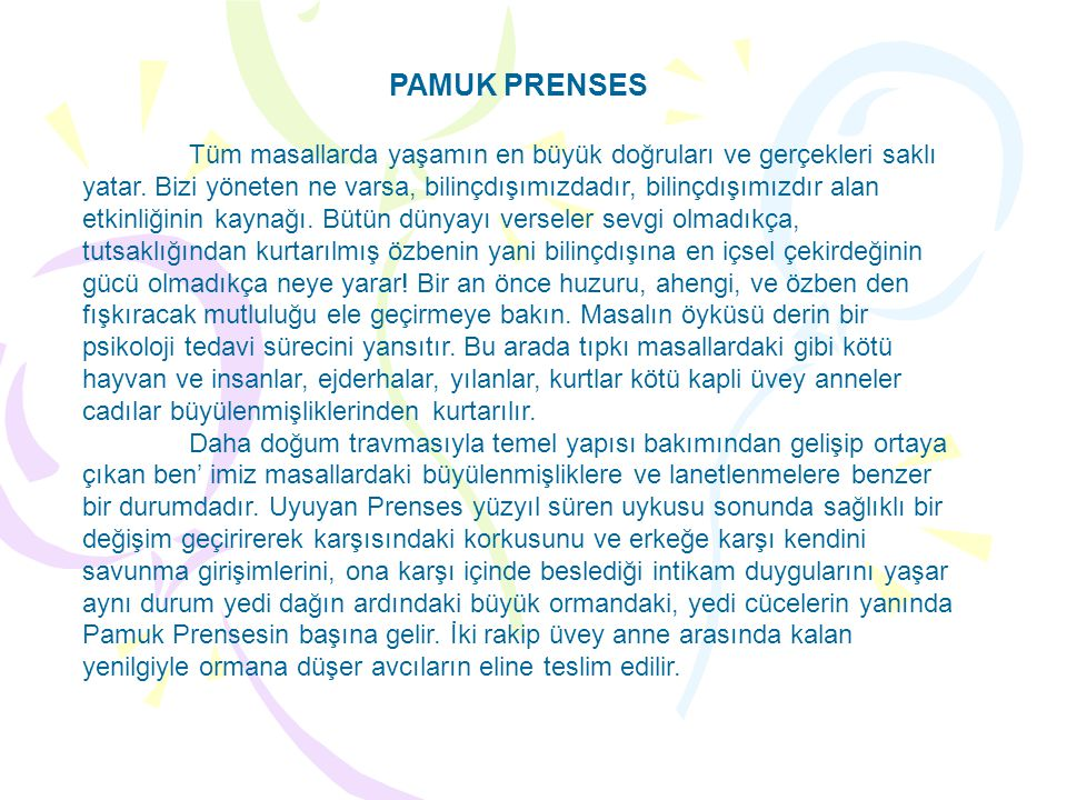 PAMUK PRENSES