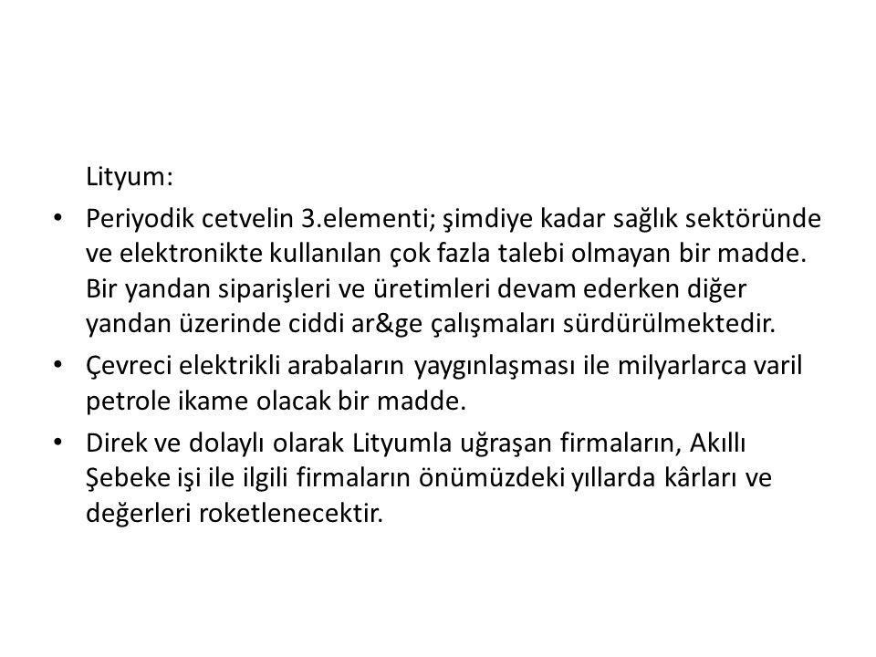 Lityum: