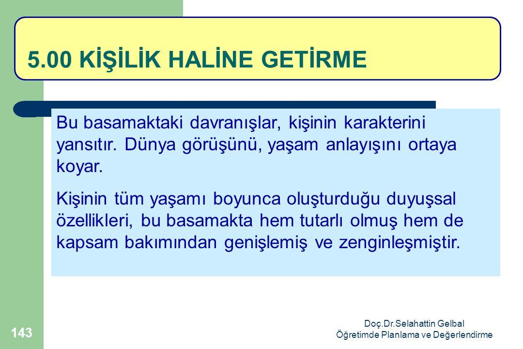 5.00 KİŞİLİK HALİNE GETİRME