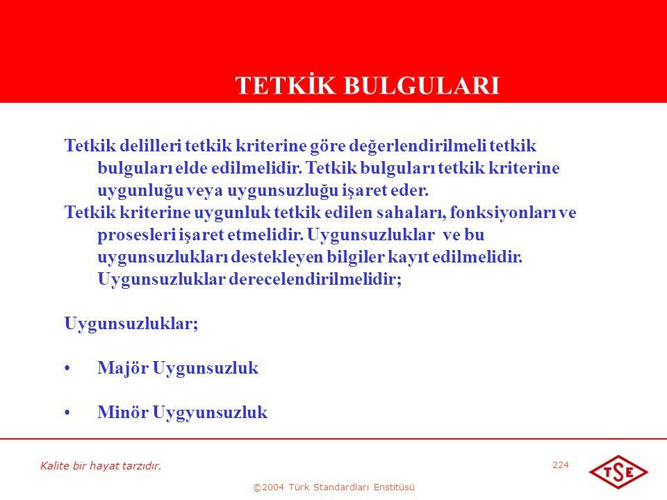 ©2004 Türk Standardları Enstitüsü