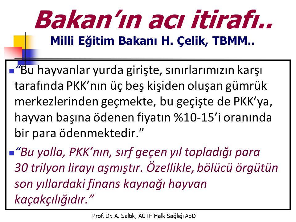 Bakan'ın acı itirafı.. Milli Eğitim Bakanı H. Çelik, TBMM..