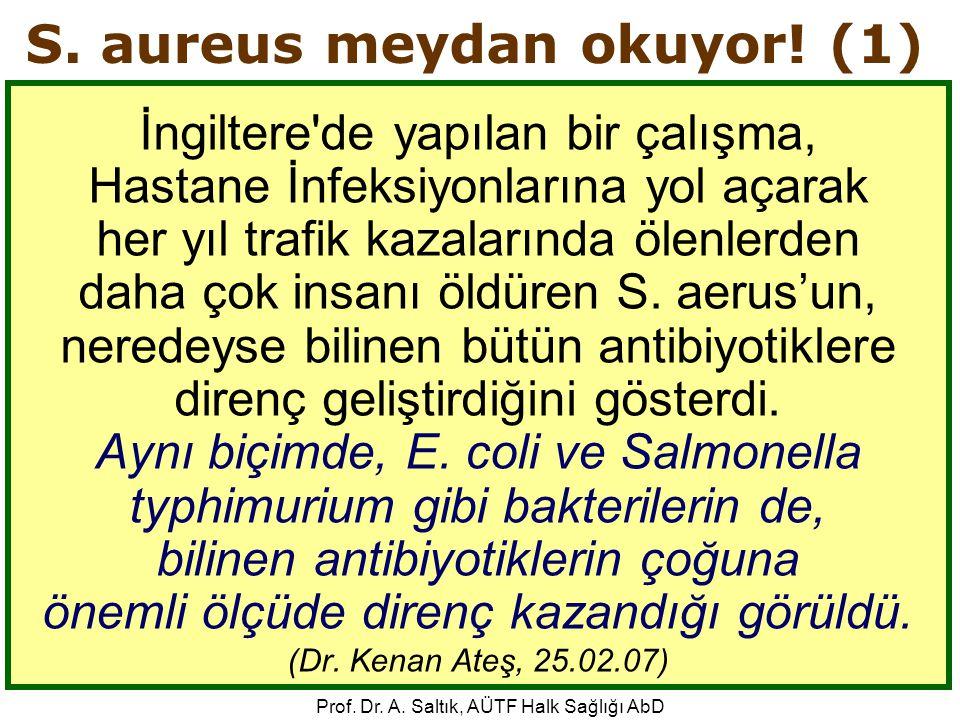 S. aureus meydan okuyor! (1)