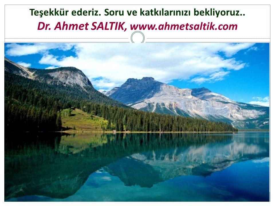 Dr. Ahmet SALTIK, www.ahmetsaltik.com