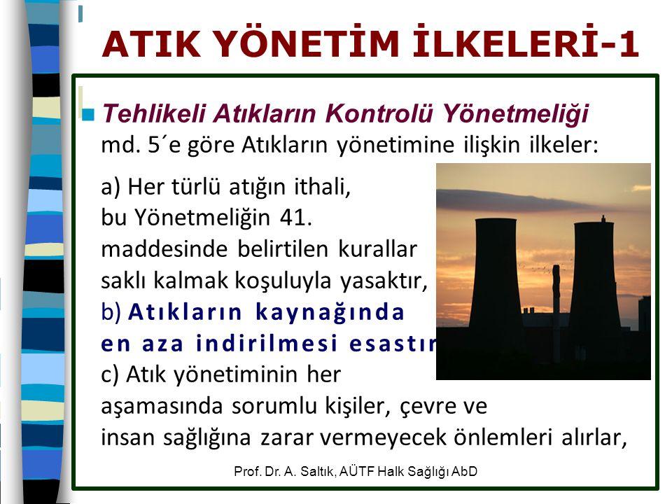 ATIK YÖNETİM İLKELERİ-1