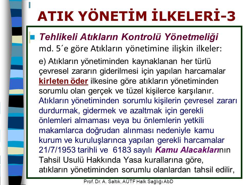 ATIK YÖNETİM İLKELERİ-3
