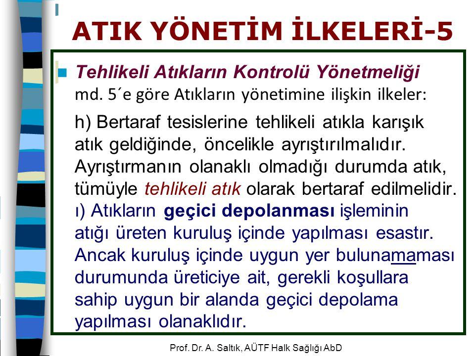 ATIK YÖNETİM İLKELERİ-5
