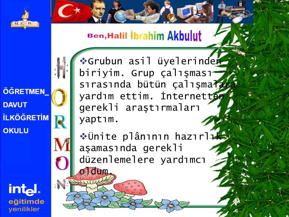 Ben,Halil İbrahim Akbulut