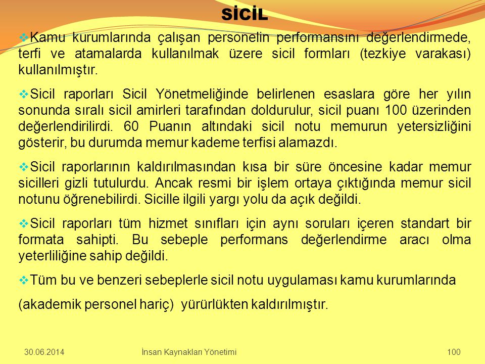 SİCİL