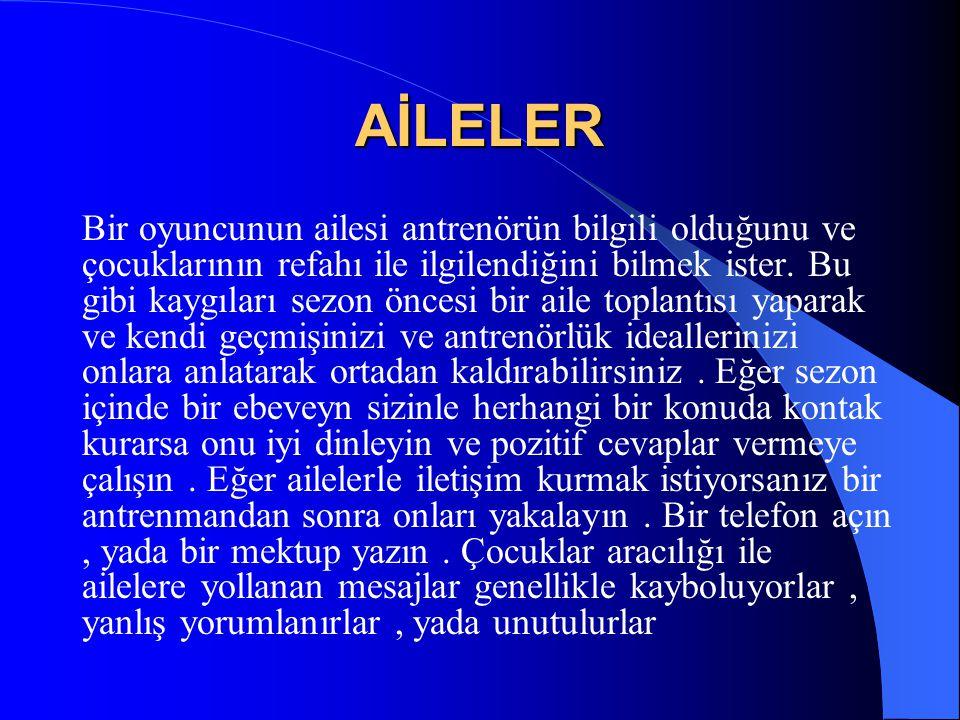 AİLELER