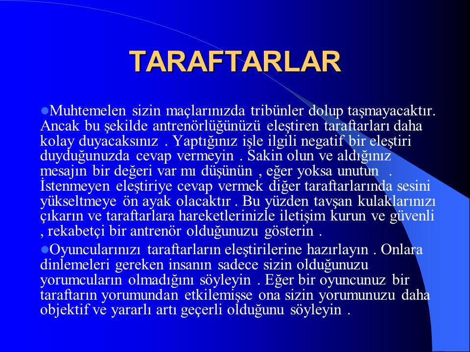 TARAFTARLAR