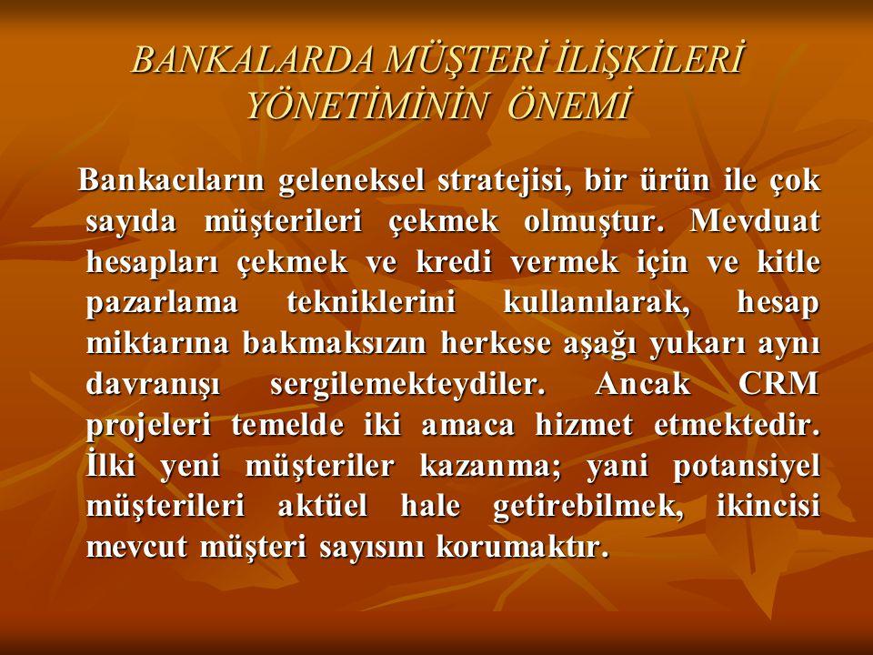 BANKALARDA MÜŞTERİ İLİŞKİLERİ YÖNETİMİNİN ÖNEMİ