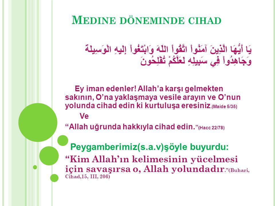 Medine döneminde cihad