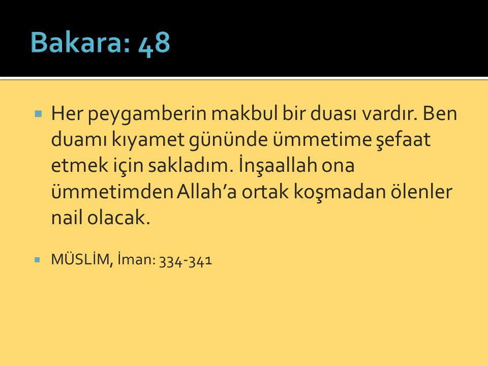 Bakara: 48