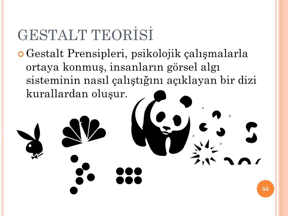 GESTALT TEORİSİ