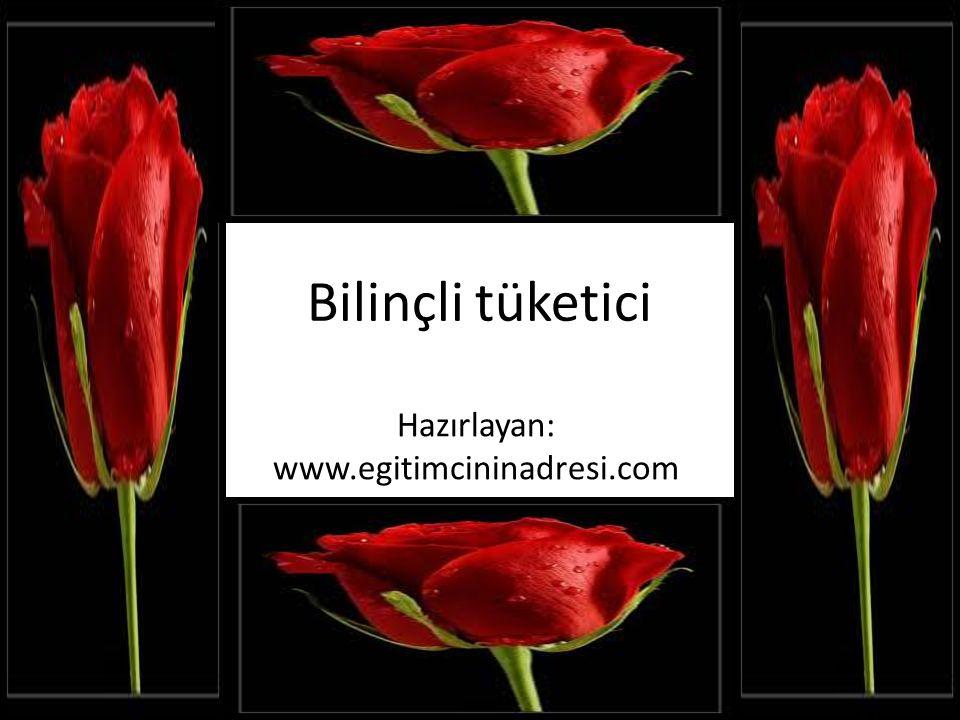 Hazırlayan: www.egitimcininadresi.com
