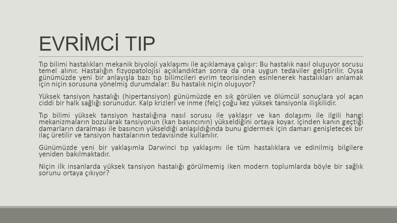 EVRİMCİ TIP