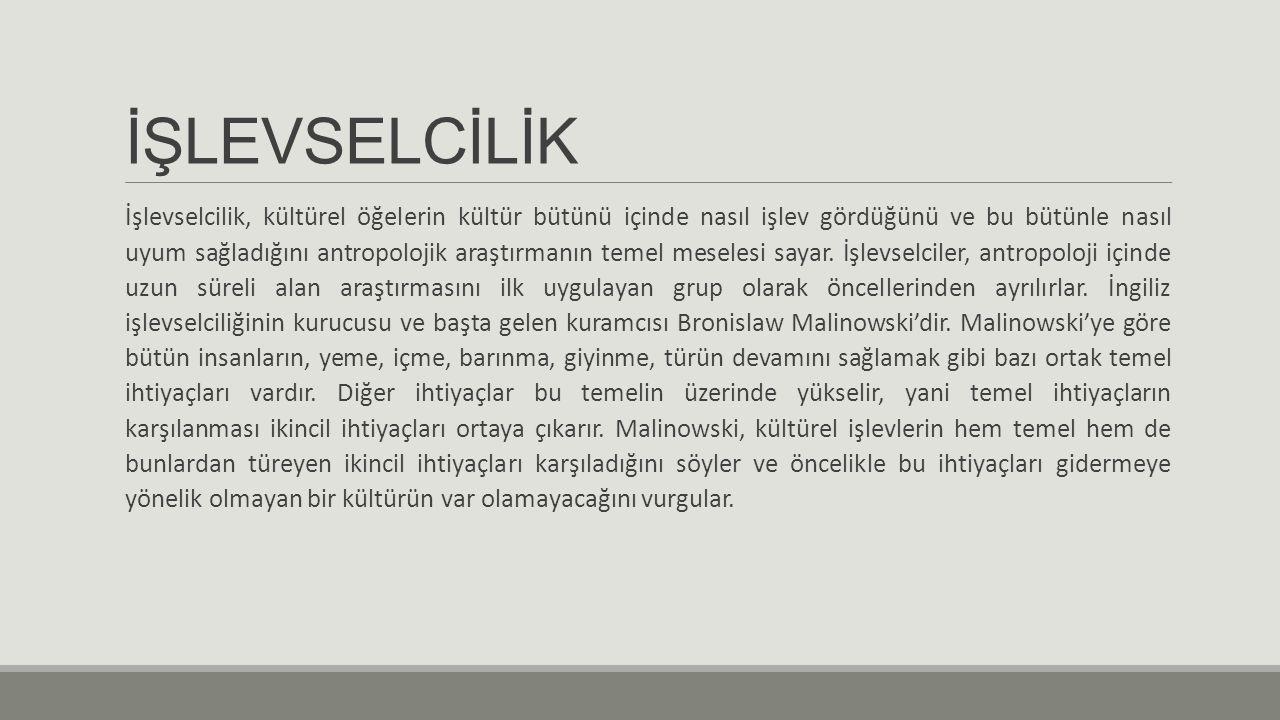 İŞLEVSELCİLİK