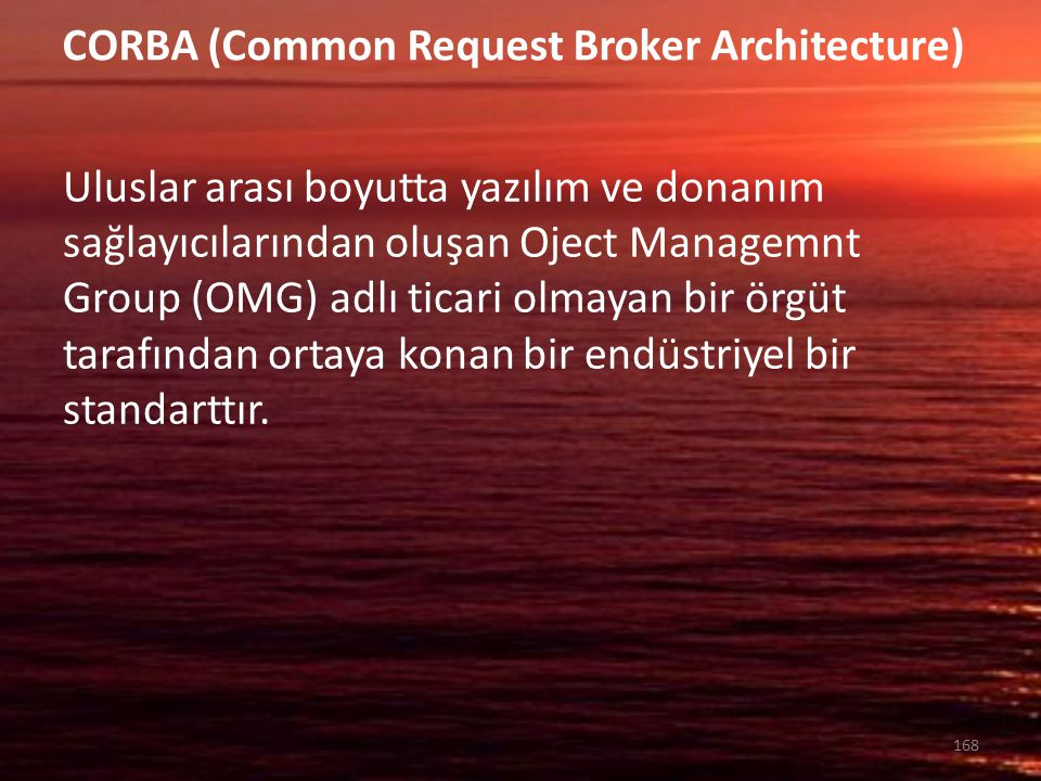 CORBA (Common Request Broker Architecture)