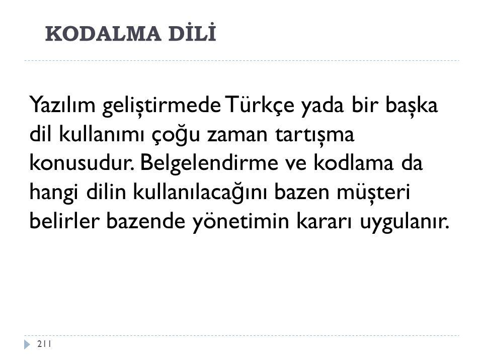 KODALMA DİLİ