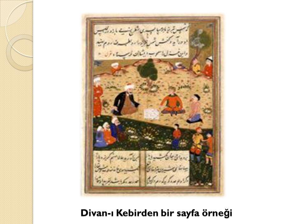 Divan-ı Kebirden bir sayfa örneği