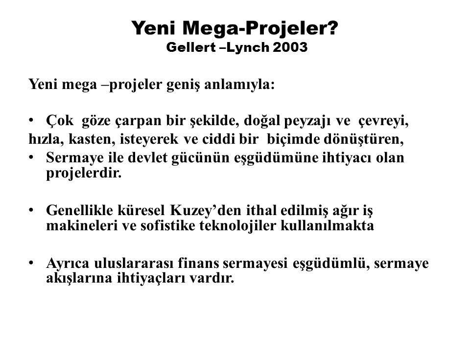 Yeni Mega-Projeler Gellert –Lynch 2003