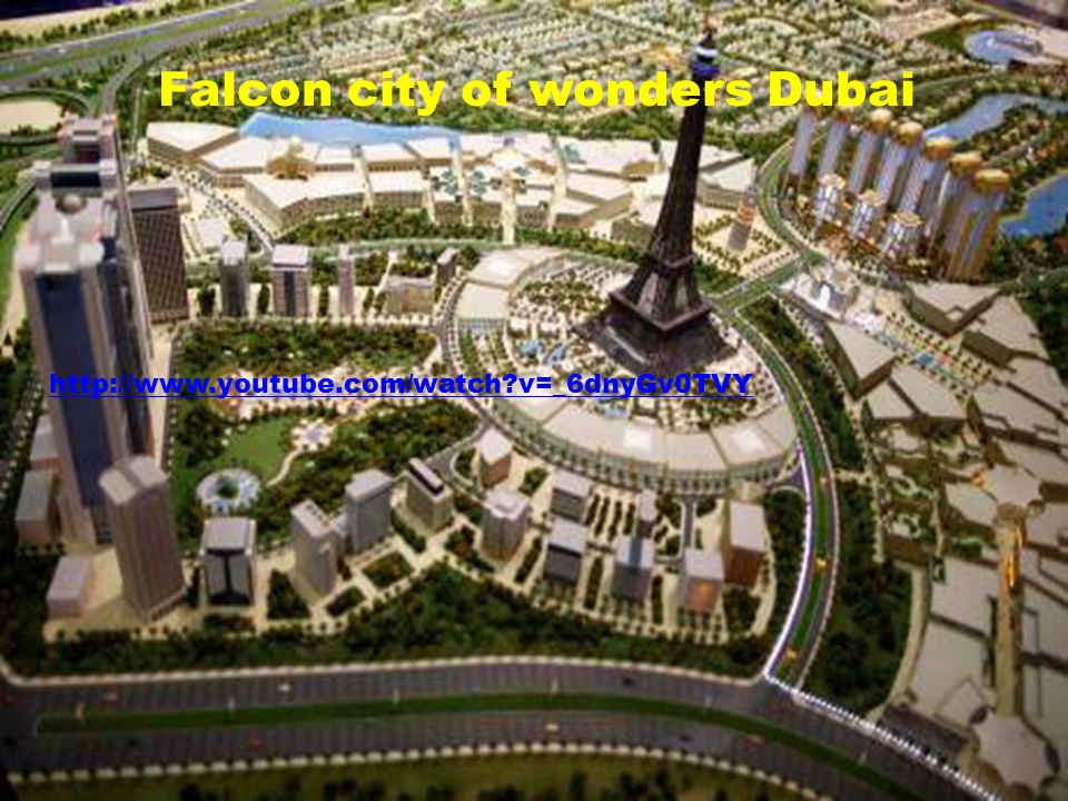 Falcon city of wonders Dubai