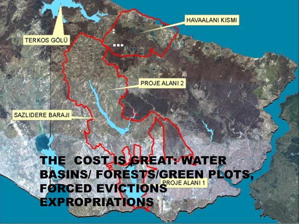 THE COST IS GREAT: WATER BASINS/ FORESTS/GREEN PLOTS, FORCED EVICTIONS