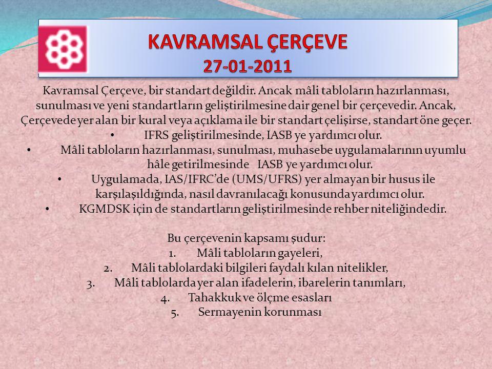 KAVRAMSAL ÇERÇEVE 27-01-2011