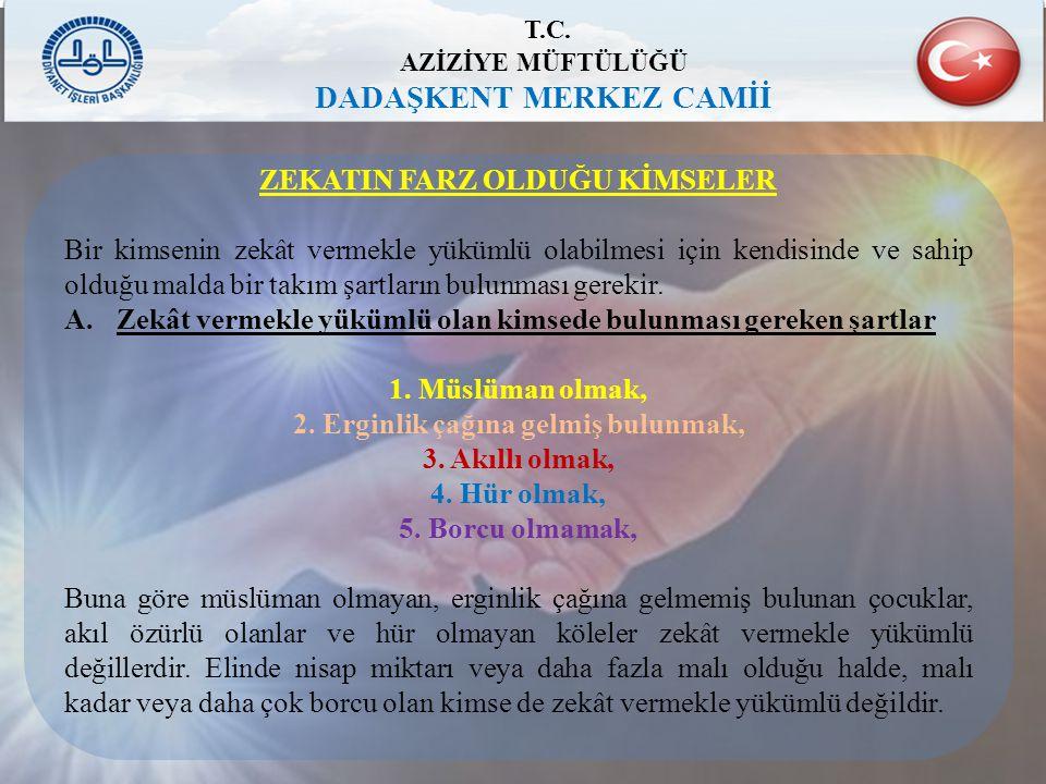 T.C. DADAŞKENT MERKEZ CAMİİ