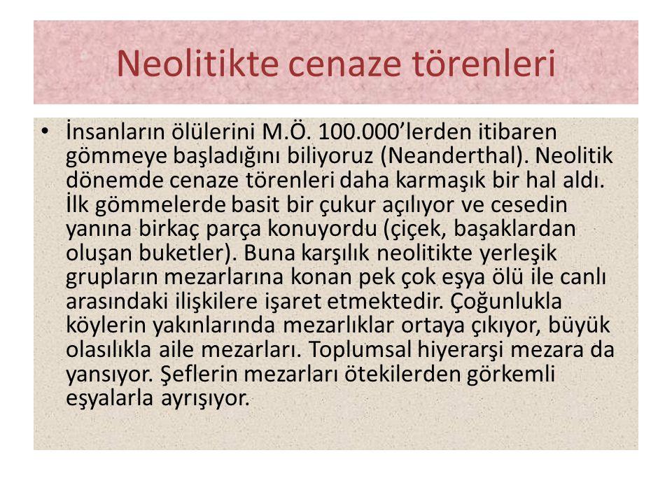 Neolitikte cenaze törenleri