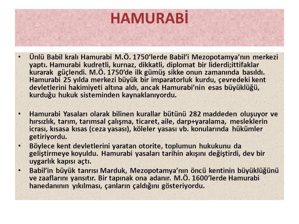 HAMURABİ